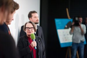 Polish director Agnieszka Holland and her Spoor concluded the festival.