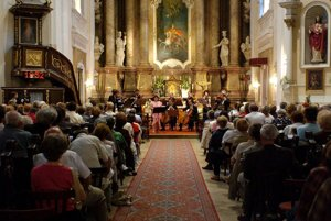 Music resounds in the Piarist Church of St Ladislaus in Nitra