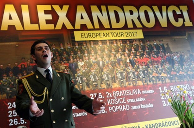 Soloist from the Alexander Ensemble presents their tour