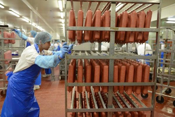 The emat-processing plant Mecom Humenné