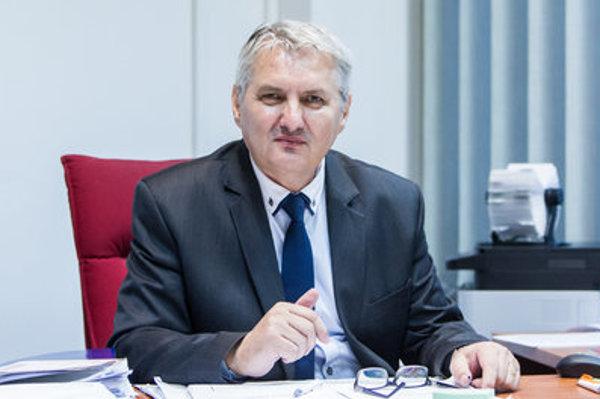 Ondrej Krajňák, head of the National Memory Institute.