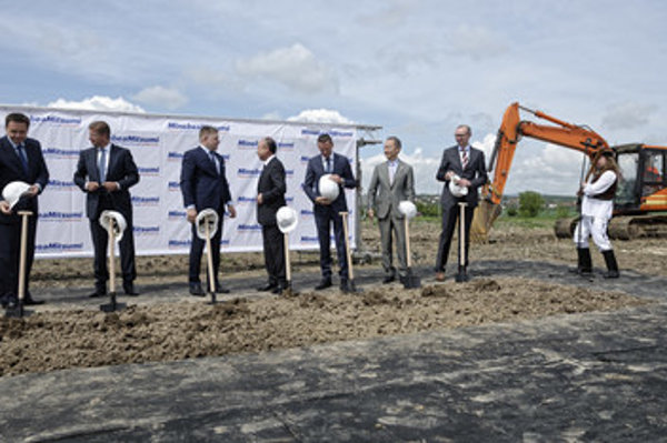The construction of Minebea Slovkaia plant was launched in May 2017.