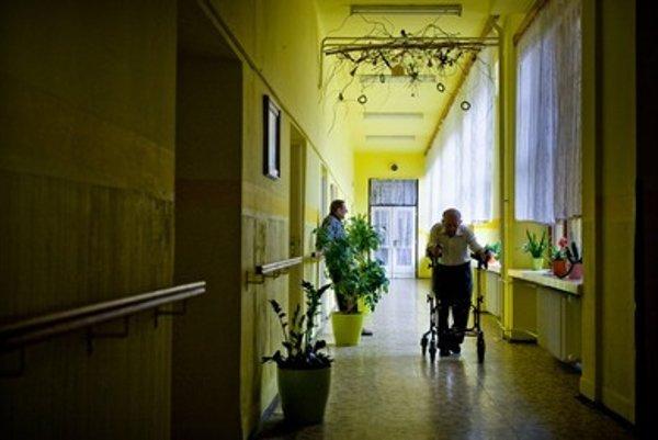 Caring for seniors, illustrative stock photo