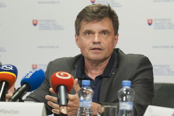 Education Minister Peter Plavčan