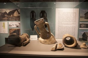 Remnants of Celtic vessels