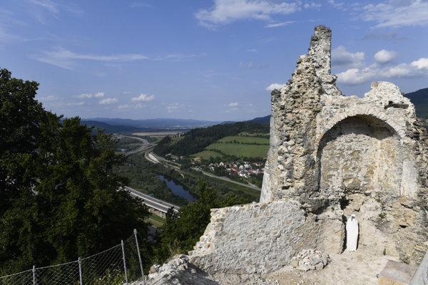 Považský Castle in Považská Bystrica