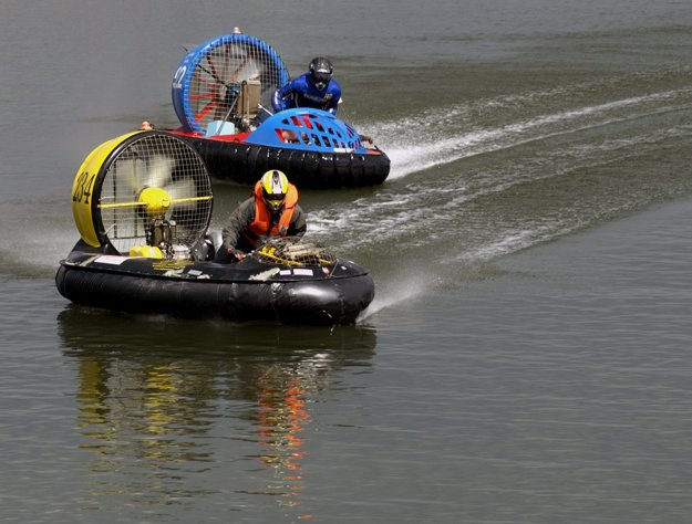 Hovercrafts in Orava, 2007
