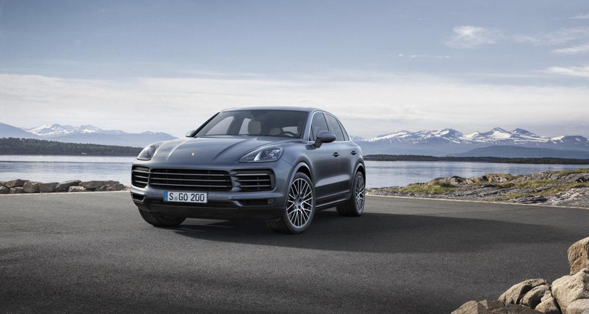 The New Porsche Cayennesource Courtesy Of Porsche