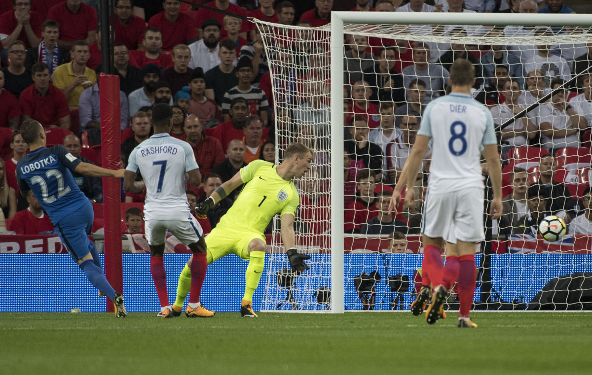 Slovakia loses against England in the World Cup qualifications