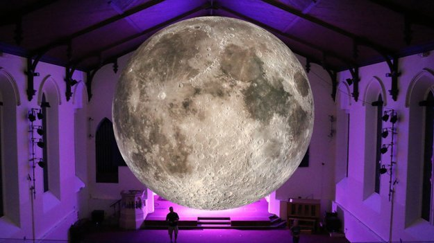 Luke JerraM: MUseum of the Moon at Lakes Alive