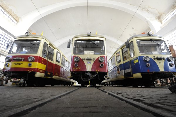 Engines of the Trenčín Electric Railway