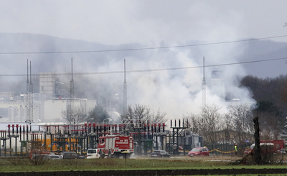 Energy prices jump after explosion at gas hub in Austria