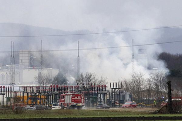 The explosion of Austrian natural gas station in Baumgarten, December 12.