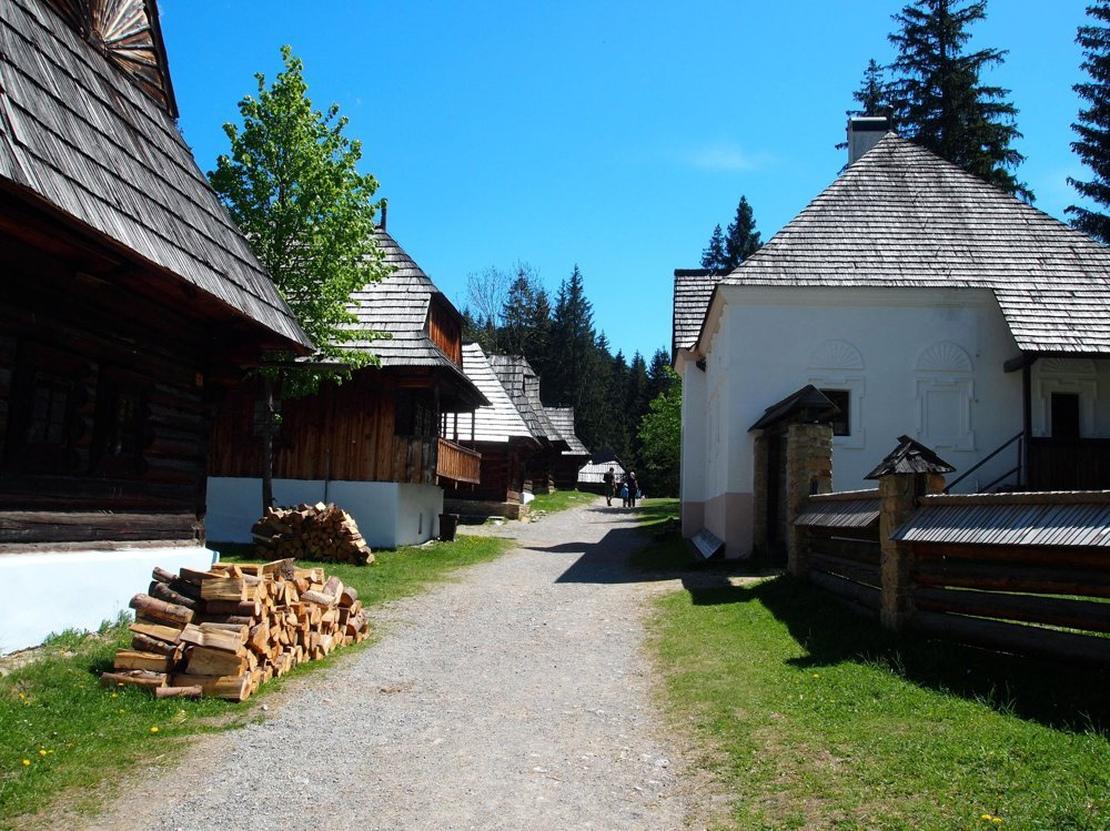 Skanzens offer insight into traditional folk architecture.