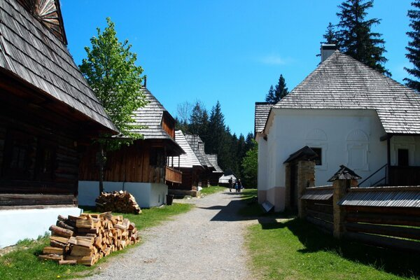 Zuberec open air museum is like Williamstown, but hundreds of years older.