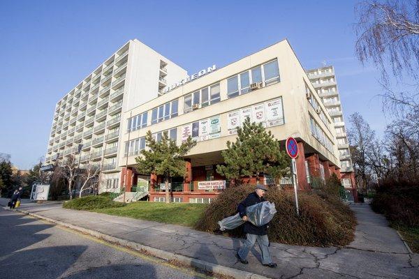 Nukleón hostel in the town of Trnava