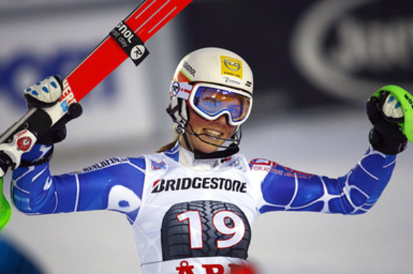 Slovak skier Vlhová wins in Alpine slalom World Cup race in Aare, Sweden.
