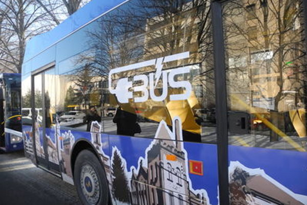 Electric buses to be tested in Poprad.
