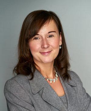 Kristína, a Corporate Audit Support and a superhero