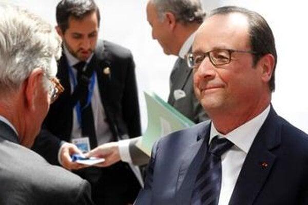 French President F. Hollande