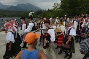 Summer 2017: L/čnica performs in High Tatras