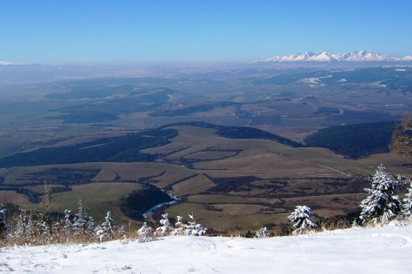 Mountain views from Sľubica
