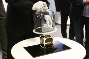 Presentation of the first Slovak satellite named skCUBE.