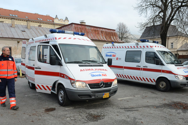 Two ambulances were sent to Moldova as part of the development aid in 2014.