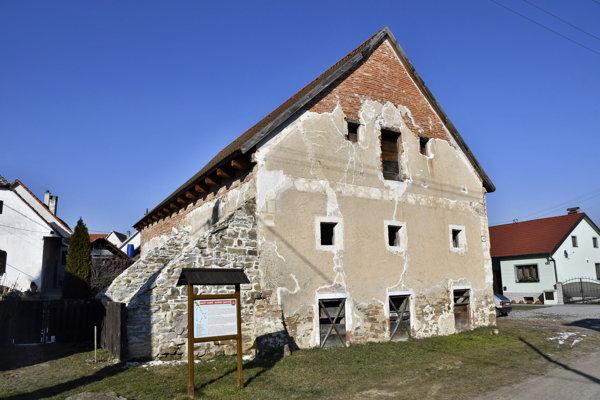 The historical Habán (Hutterite) mill in Sobotište
