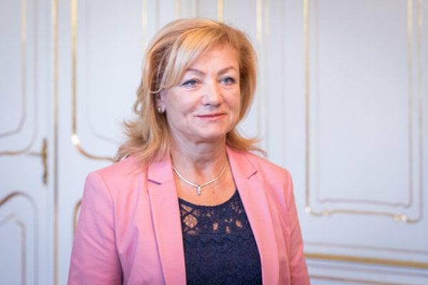 Culture Minister Ľubica Laššáková (Smer).
