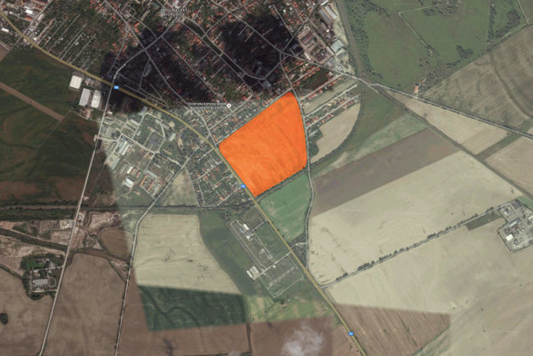 The new residential zone will be located near Podunajské Biskupice borough.