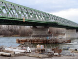 The new 'Old Bridge' in Bratislava.