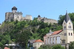 Trenčín Castle.