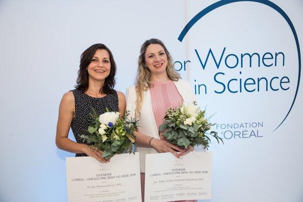 Mariana Derzsi and Andrea Straková Fedorková