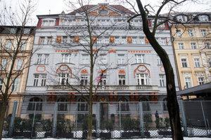 US Embassy in Hviezdoslavovo Sqaure, Bratislava