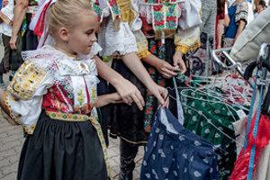 Slovak Day of Folk Costume, Banská Bystrica, Sept 8, 2018