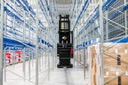 Warehouses are starting to implement new technology.