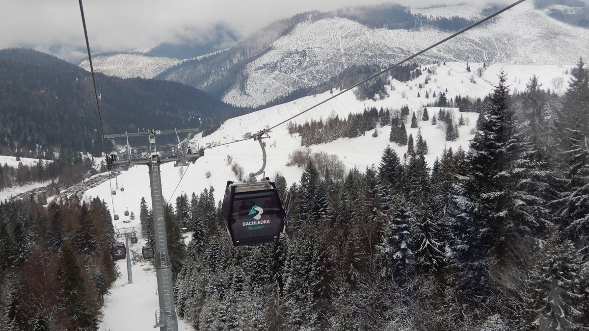 Ski resort Bachledka welcomed tourists with new cable car and parking places a0756e4ef03