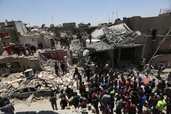 Baghdad bombing, illustrative stock photo.