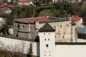 Old castle in Banská Štiavnica