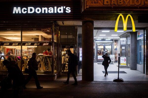 McDonald's in Bratislava