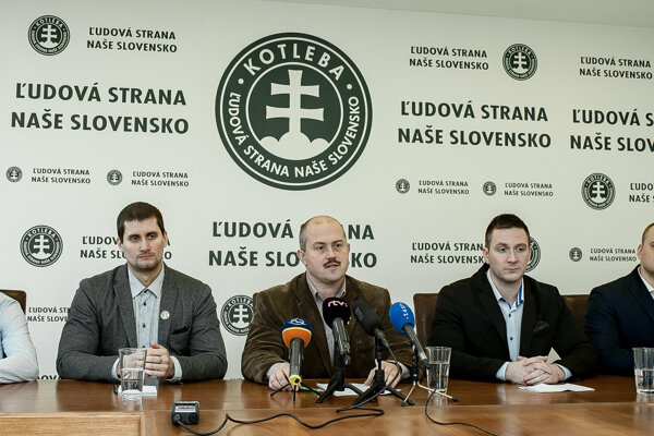 The extremist People's Party Our Slovakia (ĽSNS)came second in the first poll focusing on the 2019 EP elections.