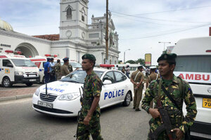 Terrorist attacks in Sri Lanka killed about 360 people at Easter.