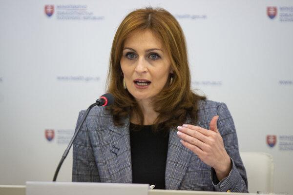 Health Minister Andrea Kalavská