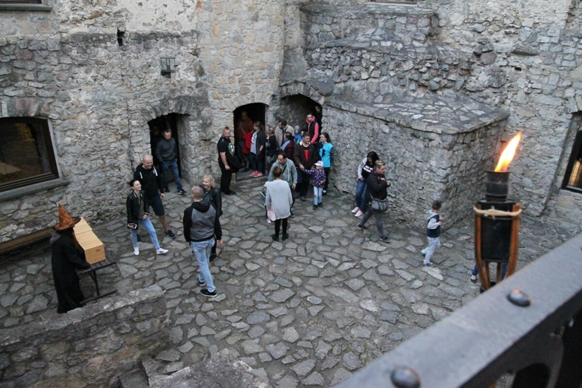 Budatínsky castle in žilina will stay open late on may 18 so that visitors could enjoy