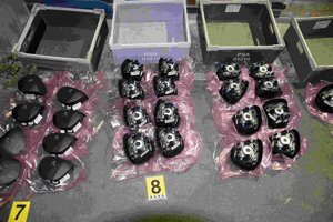 The Octopus raid led to the arrest of seven people, who had stolen car components from a company producing them.