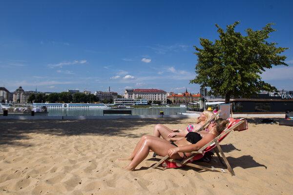 Magio Beach in Bratislava