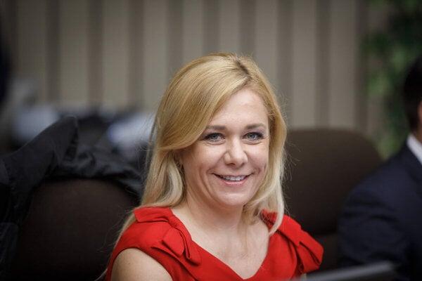 Interior Minister Denisa Saková