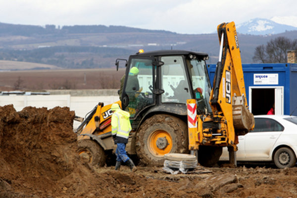 Industrial parks are abundant in Slovakia, illustrative stock photo