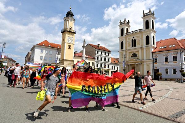 Pride in Banská Bystrica